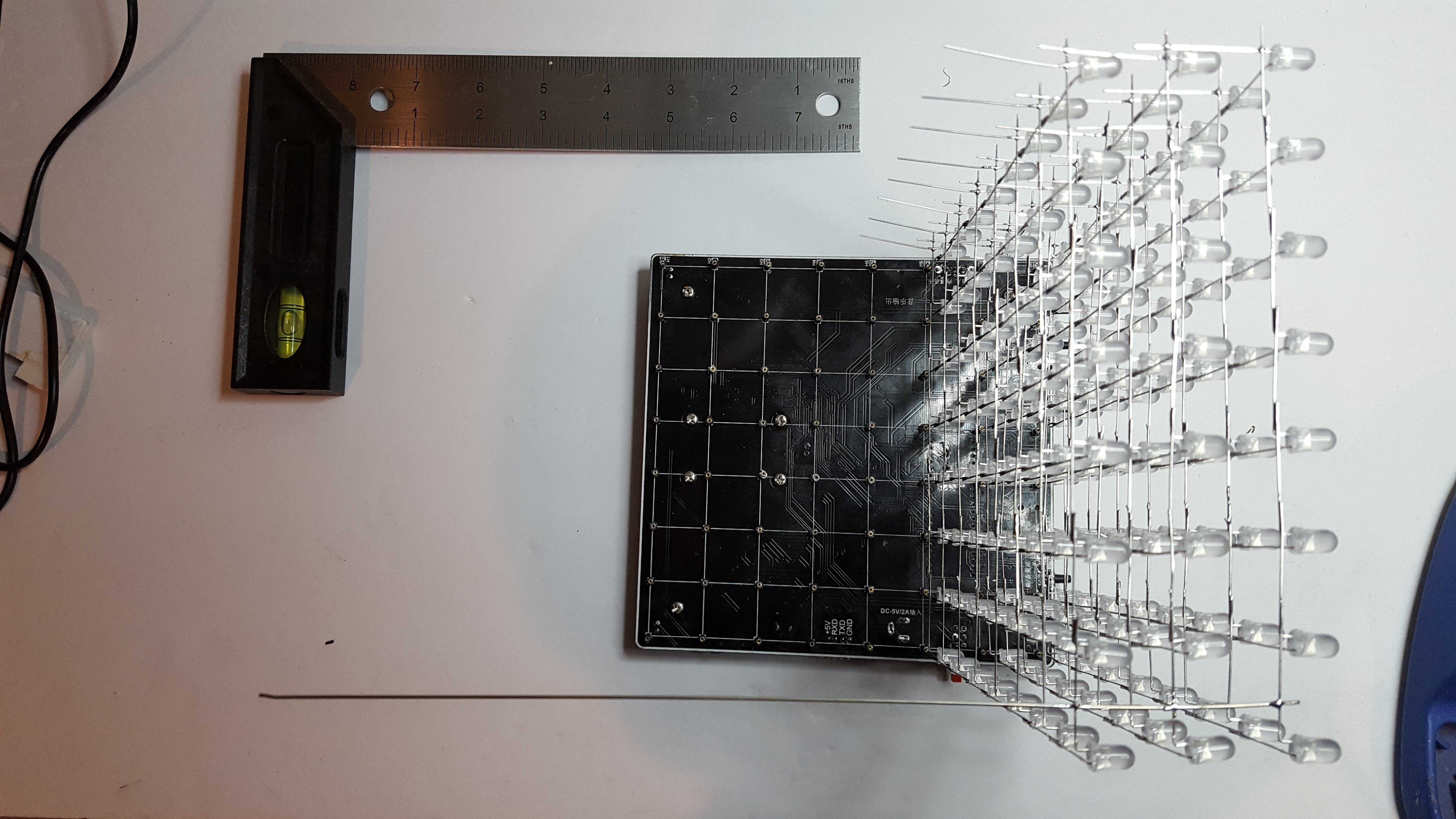 Picture of Install LED Walls Onto the PCB Base