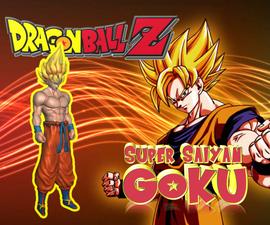 Super Saiyan Goku - Dragon Ball Z - Freedownload :)