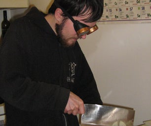 Protect Your Eyes From Onions - With Goggles