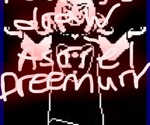 How to Draw Asriel Dreemurr