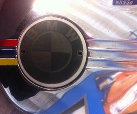 How to make a custom BMW emblem.