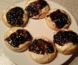 Danishes - without egg -