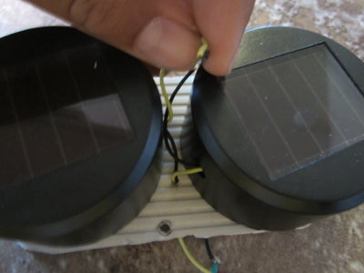 Wire the Solar Charger