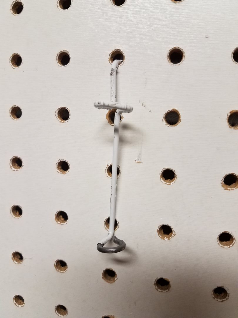 Picture of Put Your New Pegboard Hook to Good Use
