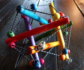 Retro Wooden Baby Toy