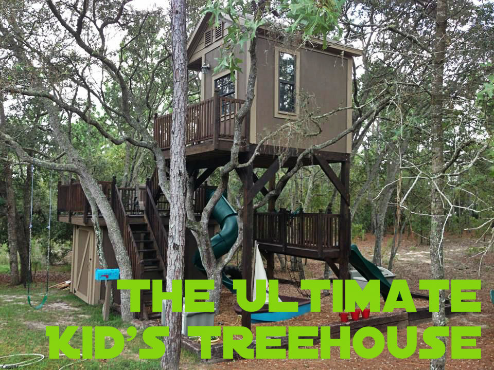Picture of The Ultimate Kid's Treehouse