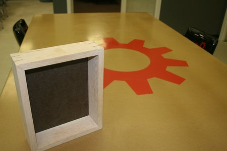 Shadow Box With Splines, I Made It at TechShop