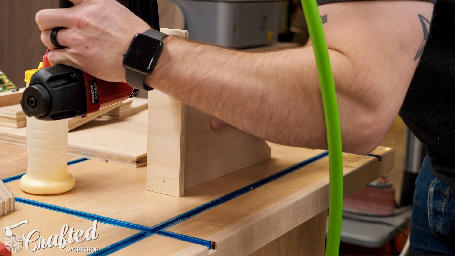 Picture of The French Cleat Clamp Rack: Cut Pieces to Support the Clamps