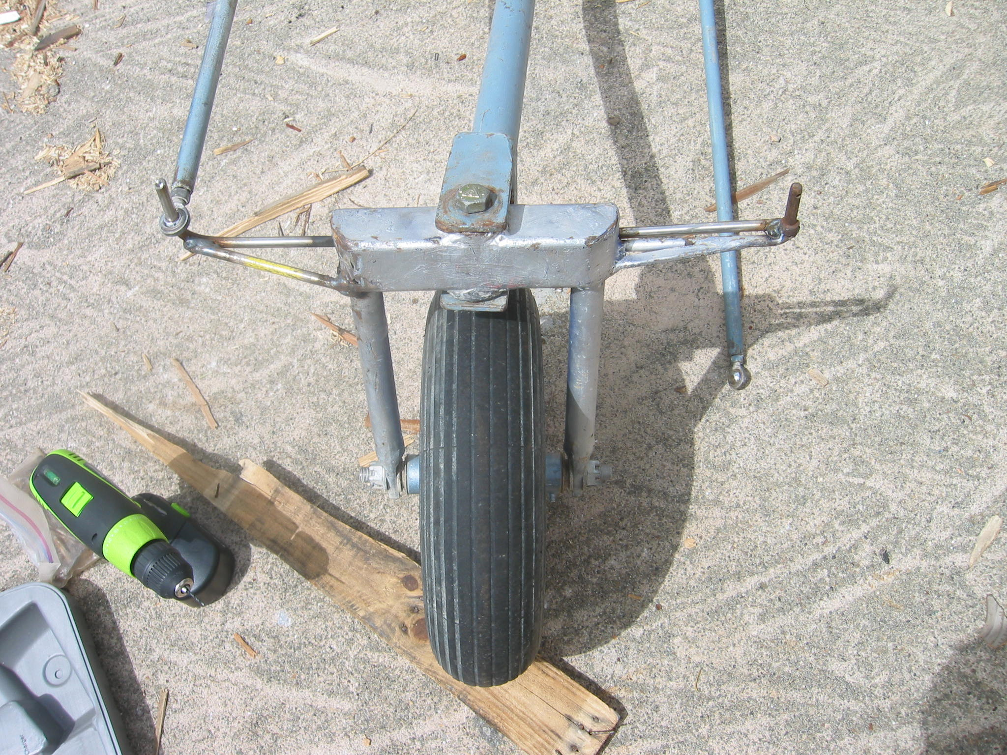 Picture of Front Fork and Wheel