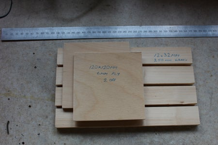 Step 1: the Wood.