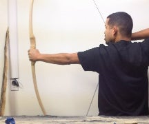 How to make a red oak bow #8