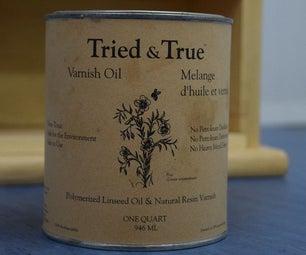 Applying Traditional Varnish Oil