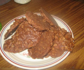 Delicious, NO BAKE cookies!