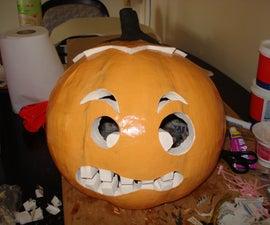 Pumpkin Head Halloween Costume