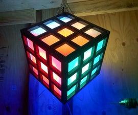 Rubik's Cube Lantern