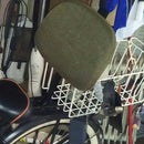 Bicycle Seat Rest From Old Desk Chair