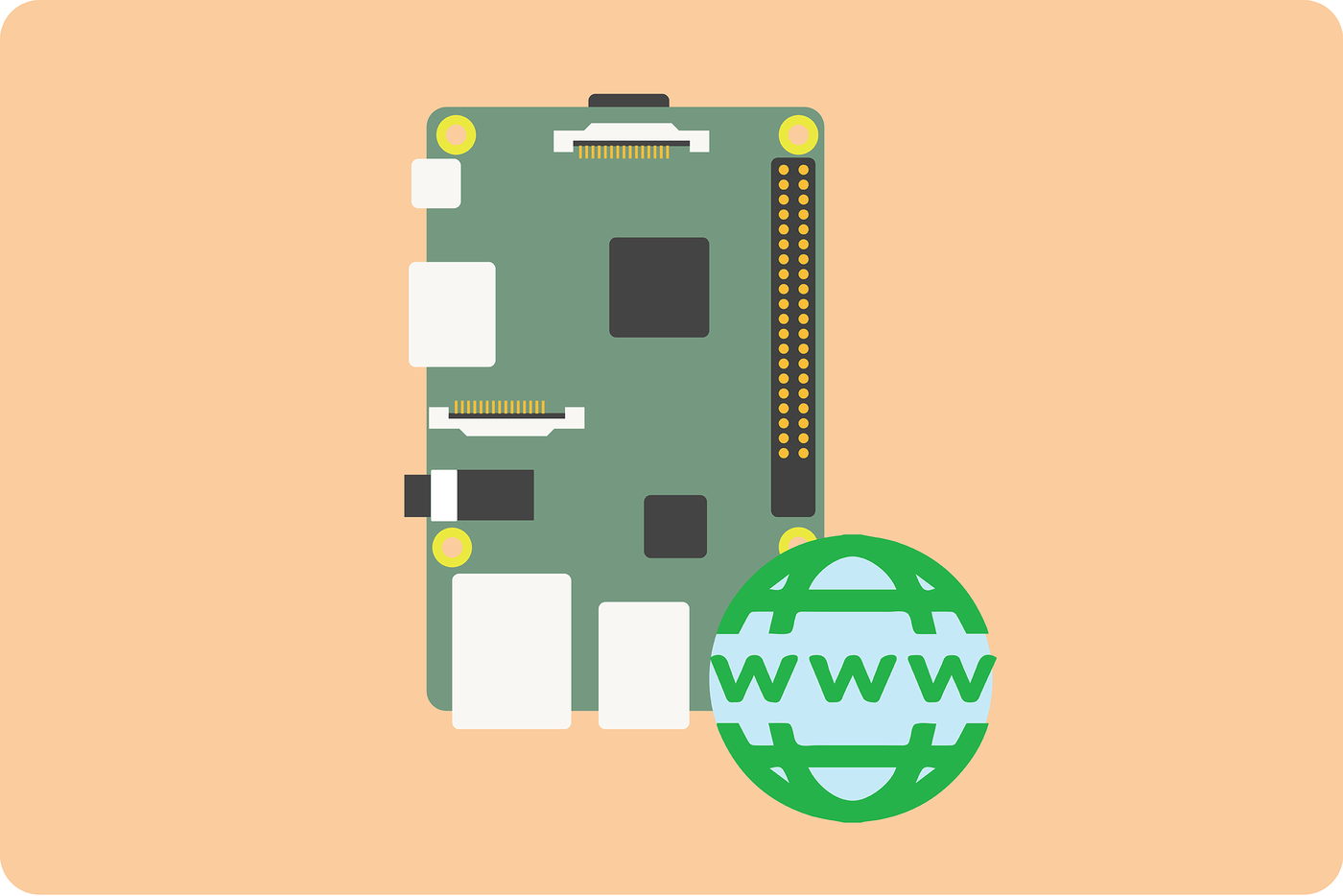 Picture of Connecting Your Raspberry Pi to the Web