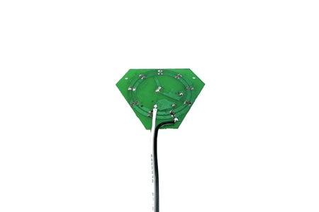 [Repulsor Glove] Rewiring the LED Tap Light Circuit Board