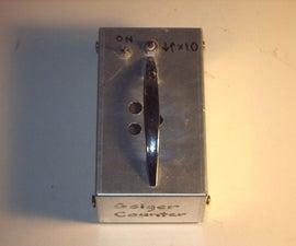Homemade Geiger Counter
