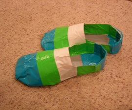 Duct Tape Shoes