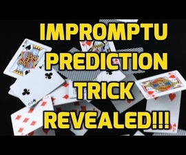How to Do Awesome Impromptu Prediction Card Trick