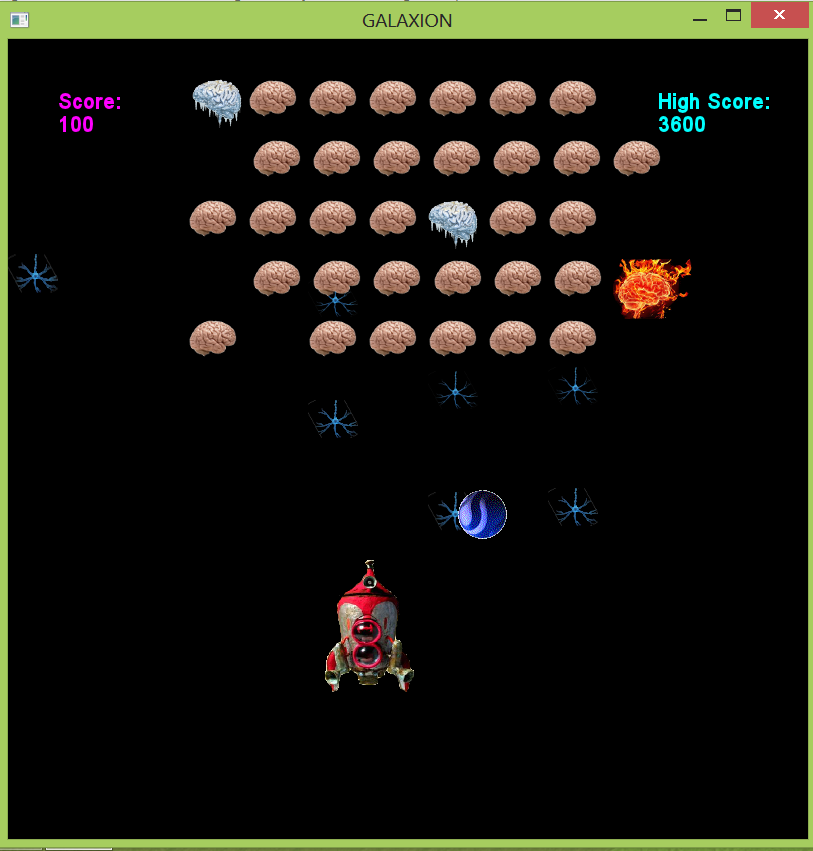 Picture of Galaxian - C++ Game
