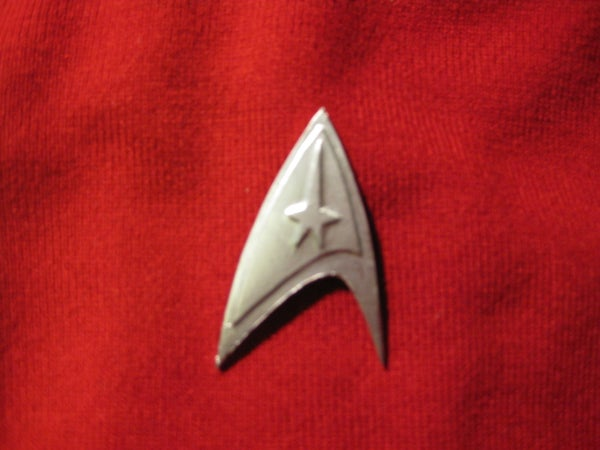Star Trek Command Badge
