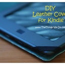 Leather Cover for Kindle, iPad or your favourite book