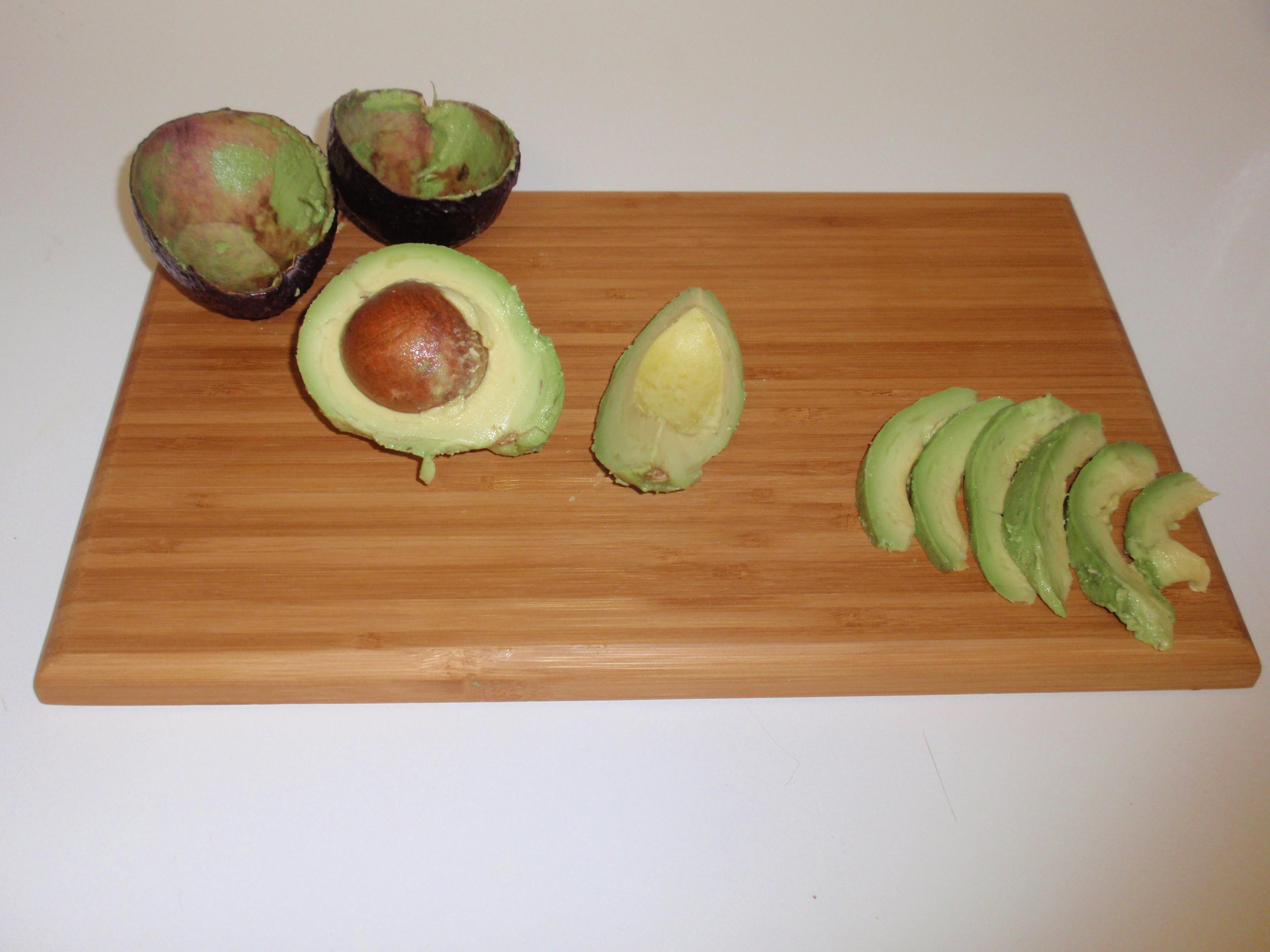 Picture of Preparing the Avocado