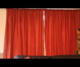 Amazon Echo Controlled Curtains