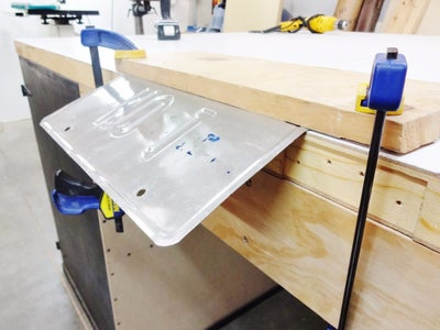 Bend Plate and Fasten to Board