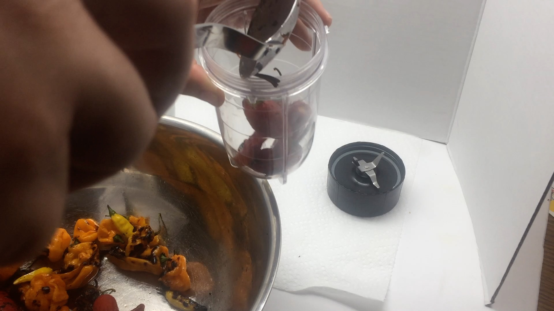 Picture of Use a Blender to Grind Your Peppers