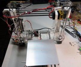 First 3d Printer: Custom Prusa i3