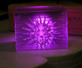 Creating Illuminated 3D Objects with a Laser Cutter