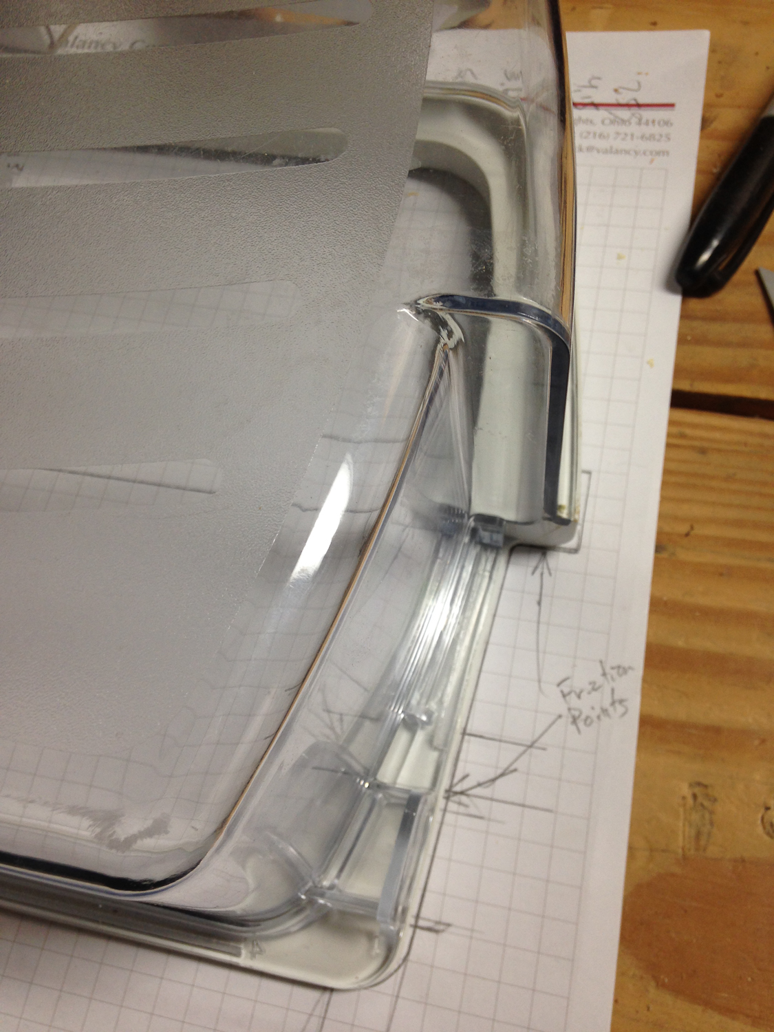Picture of Trace Out One of the Shelves and Make a Template for the Layout.