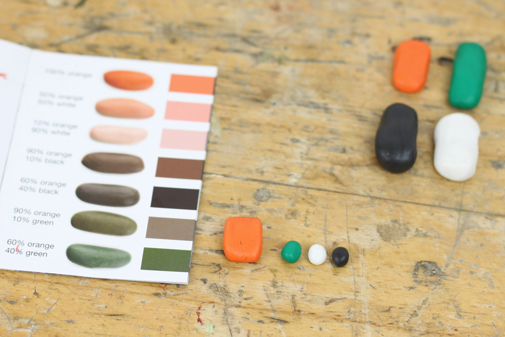 Picture of Colour Mixing to Match Leather
