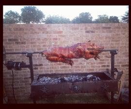 Solar Powered Pig Roaster