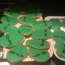 Alien Head Cookies