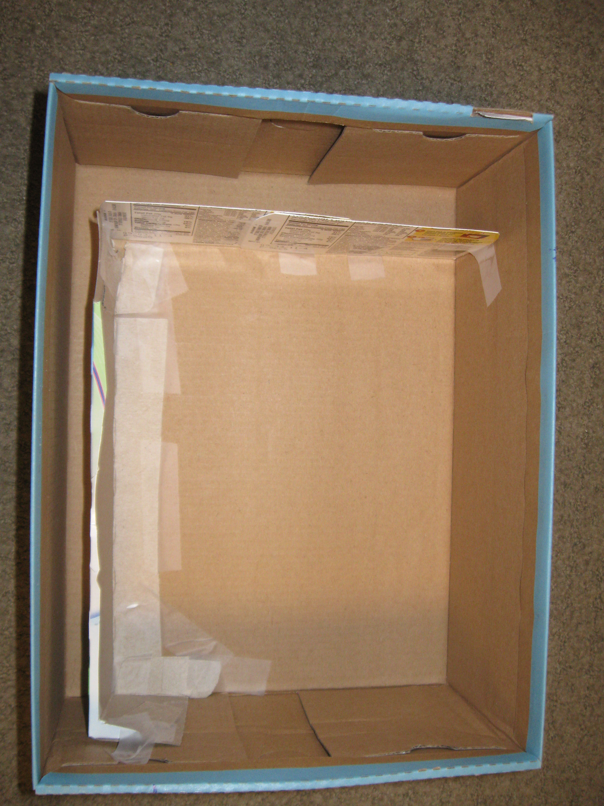 Picture of Place Cardboard Partitions