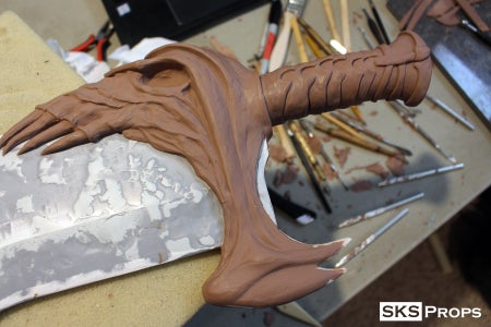 The Handle and Lower Jaw