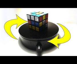Awesome Easy Turntable to Show Off Your Projects