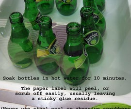 Glass Bottle Cutting
