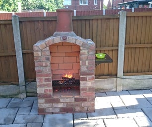 Reclaimed Brick Arched BBQ