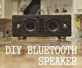 Make Your Own Bluetooth Speaker