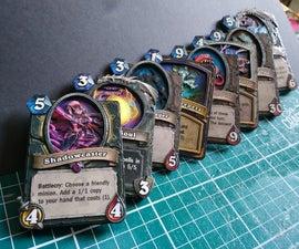 3D/Shadow Box Hearthstone Cards