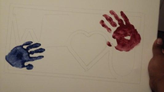 Get the Kids' Hand Prints