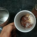 Beaten Coffee With Nescafe Granules