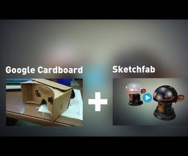 View your own 3d Models in Google Cardboard