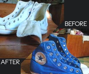 Dyeing Converse Sneakers using Venus Dye