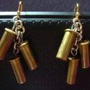 Dangle Bullet Shell Earrings